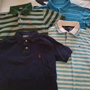 Lot four boys shirts size 8-10